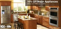 Get 10% Off $399 or more Major Appliances at Lowes!