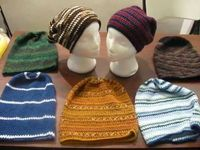 Slouch Hats Crochet Pattern Idea's