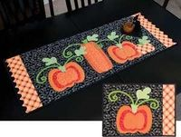 PUMPKIN HARVEST TABLE TOPPERS PATTERN