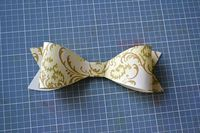 Paper bow tutorial and printable template --Cuter than buying bows!