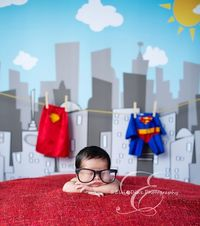 Baby Clark Kent - this is crazy cute