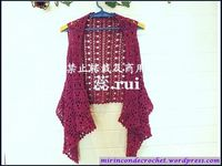 Chalecos « Mi Rincon de Crochet. Lovely vest, with detailed pix tut and diagram (text in Japanese)