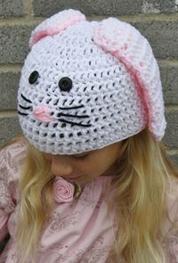Bunny..Pattern by Crochet Cabin