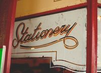 amazing old hand-painted lettering (photo by ro luc)