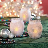 Epsom Salt Candle Holders - free pdf instructions