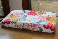 Floral Custom Changing Pad Cover changing table by PaisleyMade, $26.00