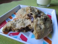 Chocolate Chunk Oatmeal Cookies | Tasty Kitchen: A Happy Recipe Community!