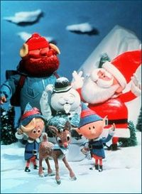 Rudolph and pals