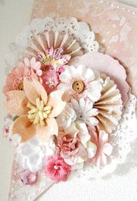 Beautiful paper crafting