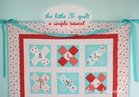 Little X quilt Tutorial by Tasha Noel