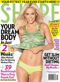 'The secret to my incredible abs': Jenny McCarthy, 40, shares her tips as she reveals her bikini body