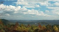 Morrow Mountain State Park (32 miles of trails)