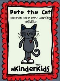 Pete the Cat Freebie - Math