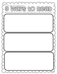 Free Daily 5 printables to reinforce and extend learning about each component