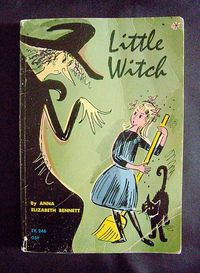 Vintage Children's Halloween Book Little by MoonkittensTimeline, $32.00