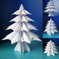 How to make an origami Christmas tree | How About Orange