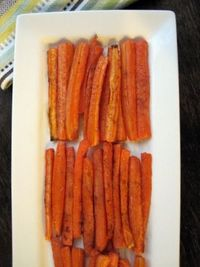 Spicy Paprkia Roasted Carrots