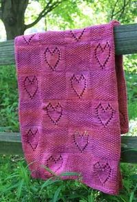 With Love Baby Blanket by Mara Jessup
