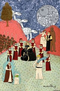 Star Wars - Ottoman Painting