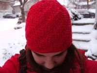 free hat pattern, tunisian crochet