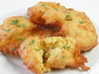 Potato Cheese Puffs ~ A most satisfying and tasteful use of leftover mashed potatoes, are these Potato Cheese Puffs. Like a dinner roll and potatoes in one