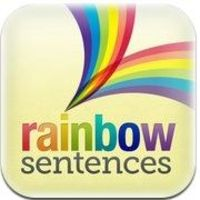 Rainbow Sentences iPad App