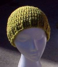 Easy Double-Crochet Cap Pattern