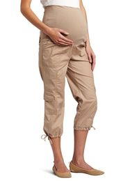 Three Seasons Maternity Women's Cargo Capri Pant $44
