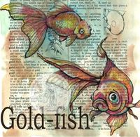 flying shoes art studio: GOLD-FISH