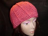 Crochet Pillar Hat #hat free #crochet #pattern
