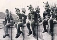 A bunch of lil' devils.