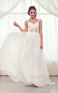 Anna Campbell #wedding gown