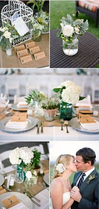 Such a sweet wedding table