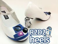 DIY: The R2D2 Heels You've Been Looking For by mikeasaurus.
