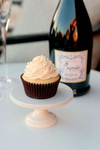 Delicious Champagne Cupcakes made with