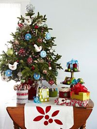 Decorate a Tabletop Tree