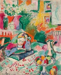 Henri Matisse, Interior with a Young Girl Reading