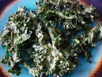 Microwave Kale Chips! This will save a ton of time