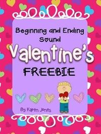 Valentine Beginning and Ending Sound FREEBIE!