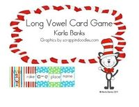 $3.00 This is a card game played similar to Uno. This game gives students additional practice reading long vowel words. There are 292 word cards and 44...