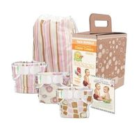 Bumkins Diaper Cover Bundle 3-Pack - Girl Elements, Medium