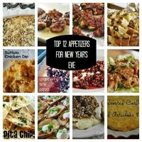 Top 12 Appetizers for New Year's Eve