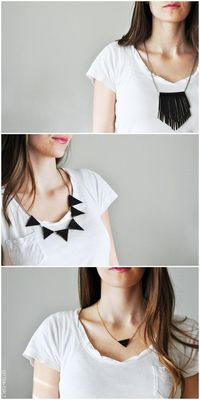 Leather Necklace Tutorials