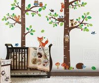 Woodland Themed Baby Nursery