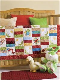 Cute as a Bug Baby Quilt e-patterns Central
