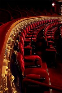 The seats of grandeur - Opera Garnier de...Paris.**.