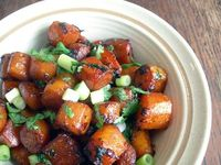 soy braised carrots