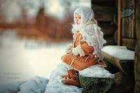 snowy and sweet