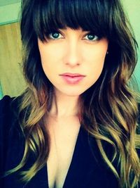 perfect ombre hair color on a Glamour reader