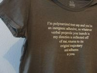Rubber and Glue Sheldon Quote Shirt